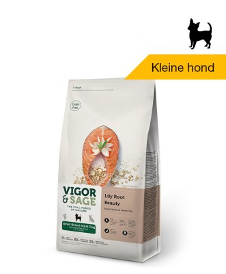 Vigor & Sage Lily Root <BR>Beauty Small Breed <BR>Adult Dog - 6kg