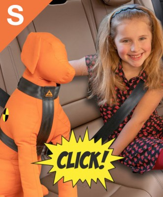 Trailstone Dog Seat belt <BR> Small: 8 tot 15 kg